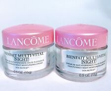 LANCOME Bienfait Multi-Vital High Potency Night Moisturizing Cream (15 g x 2) Se