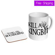 To Kill A Mockingbird Ceramic Tea - Coffee Mug Coaster Gift Set