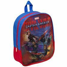 Marvel Captain America Civil War Backpack 3d Kids Bag School Junior Rucksack