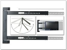 Soporte de pared LED LCD HD blindados TV soporte 180 ° orientable plana starr estrecho s91