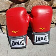 Everest Pro style boxing gloves 14oz Red