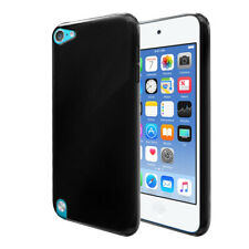 For Apple iPod Touch 5 5th/ 6 6th/ 7 7th Gen TPU Black Silicone Case Skin Cover