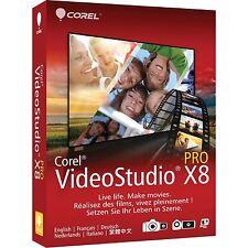 Corel Video Studio x8.5 - 1 PC-de/EN/FR + Multilingual-nuevo