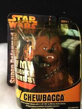 Star Wars Chewbacca Lights And Sound Figure-Super Deformed-Brand New Sealed 2005
