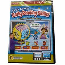 Lakeshore Learning Easy Reading Skills Game Language Pc Mac Software Cd Pre K-K