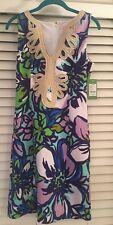 NWT Lilly Pulitzer Janice Shift Dress Spectrum Blue Catwalk Size Small S