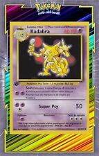 🌈Kadabra - Set de Base Edition 1 - 32/102 - Carte Pokemon Neuve Française