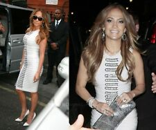 Herve Leger Runway Embellished Dress As Seen on Jennifer Lopez