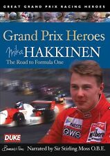 Mika Hakkinen - Grand Prix Heroes (New DVD) Narrated by Sir Stirling Moss
