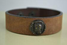 Diesel Abosfo Armband  Bracciale bracelet  Neu Braun Leder Leather