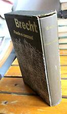 Bertolt Brecht POESIE E CANZONI Einaudi i Millenni 1959 con cofanetto di pregio