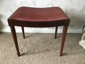 Mahogany Dressing Table Stool
