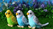 3 pieces a lot small plush parrot toys cute bird doll gift about 12cm