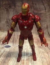 """Marvel Iron Man Electronic Talking 12"""" Repulsor Action figure 2007 Tested Works"""