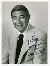 HOWARD COSELL SIGNED PSA/DNA CERT 7X9 PHOTO AUTHENTIC AUTOGRAPH