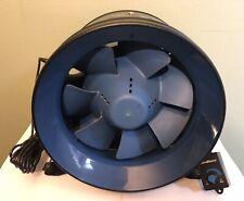 """TerraBloom ECMF-250 Quiet 10"""" Inline Duct Fan with 0-100% Variable Speed Control"""