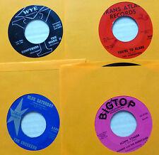 INSTRUMENTAL ARTISTS rock POP 1960s Lot of 8x45rpm DUANE EDDY Mar-Kets etc dm850