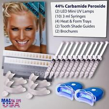 44% Teeth Tooth Whitening Whitener Bleaching Professional Kit White Gel Light