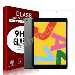 "2020 New Apple iPad 10.2"" 8th Generation Tempered Glass Film Screen Protector UK"