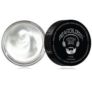 Beardilizer Beard Growth Sandalwood Conditioner & Softener Cream Formula 4oz