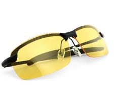 HD Polarized guida notturna occhiali giallo lente anti abbagliamento VISION COLORATA UNISEX