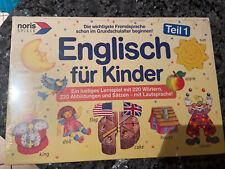 Englisch für Kinder Lernspiel Noris Spiele Teil 1