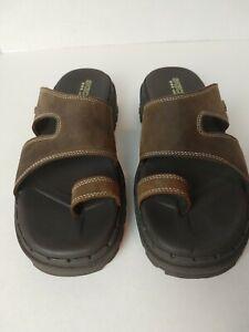 Skechers Women's Brown Upper  Leather Sandals. Size 9. #816
