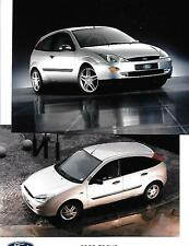 "GROUP OF 8 FORD FOCUS  PRESS PHOTO ""sales brochure related"""