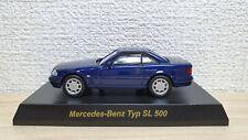 1/64 Kyosho MERCEDES BENZ SL500 BLUE diecast car model