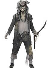 Ghost Ship Ghoul Pirate Halloween Adult Mens Smiffys Fancy Dress Costume -medium