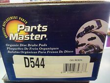 Disc Brake Pad-Organic Disc Brakes Rear Parts Master D544 FREE Shipping!!