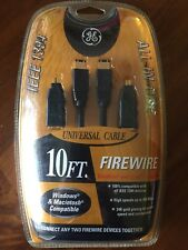 Ge HO97914 IEEE 1394 3-in-one Firewire Cable 10 FT LOT OF 25
