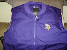 size Xl Nike Minnesota Vikings Storm-fit Suit Jacket pants Nfl Team Issue New
