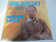 DON SEBESKY~Moving Lines~Doctor Jazz~1985~Factory Sealed Vinyl LP FW40155
