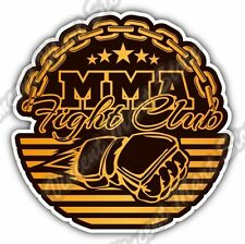 Mixed Martial Arts MMA Fight Club Chane Cage Car Bumper Vinyl Sticker Decal 4.6""