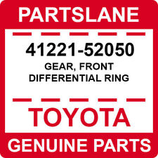 41221-52050 Toyota OEM Genuine GEAR, FRONT DIFFERENTIAL RING
