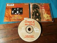 Simple Minds - The Early Years 1977 1978 Previously Unreleased Tracks Cd Ottimo