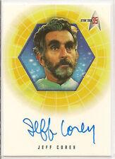 Star Trek 35th Anniversary TOS Autograph Card A17 Jeff Corey Plasus