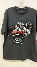 ICON LOCKDOWN TEE, CHARCOAL, LARGE, 3030-5738 CASUAL WEAR, New, never worn