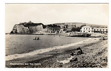 The Front - Freshwater Bay Real Photo Postcard c1940s