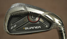 NEW TaylorMade Single  Burner 2.0 Pitching Wedge Steel STIFF