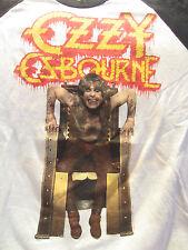 True Vintage OZZY OSBOURNE Concert T-Shirt Jersey 1983  Rare Tour Shirt