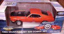 1969 Ford Mustang GT CALYPSO CORAL 1:18 Ertl American Muscle 33842
