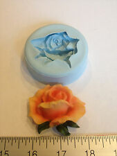 ROSE BUD FLOWER SILICONE MOLD #67 VALENTINE DAY, CHOCOLATE,CHRISTMAS, HALLOWEEN