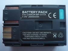 2st original intensilo ® batería 1.600mah para Canon bp-508//bp-511//bp-511a