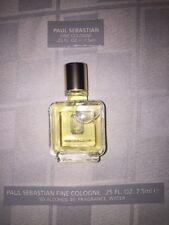New Paul Sebastian PS Fine Cologne For Men 0.25 FL OZ 7.5ml Mini Travel no box