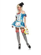 Leg Avenue Fantasy Alice Costume 83442 Blue/White Small/Medium