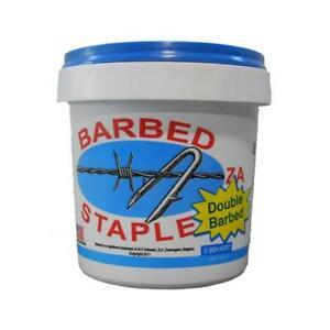 8-Gauge Fence Staples, 1.75-In., 8-Lb. Bucket