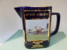 Martell Grand National pub Water Jug royal athlete1995 number 4637 of 6000