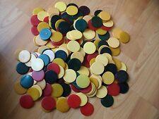 Antique Catalin Bakelite Gambling Poker Chips 175 count